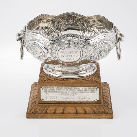 Rose Bowl Trophy 1959-60   Watford Museum