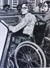 Carol Bryant, former telephonist. Commonwealth Gold medallist | Courtesy of CSSC