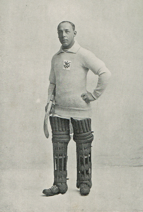 Harry Haslam, Olympic Gold medallist 1920, GB Hockey | Courtesy of The Hockey Museum