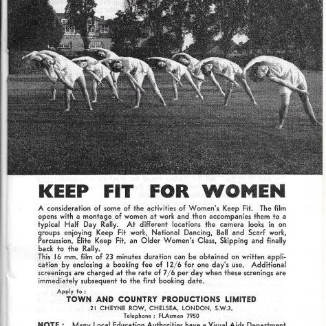 KFA press cutting about a film made of them 1964 | KFA