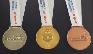 2010 IBSA World Championships (Sheffield) framed medals | Kathryn Fielding