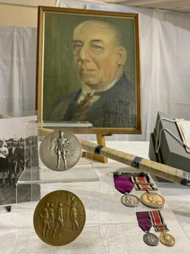 Harry Haslam's hockey medal displays | The Hockey Museum