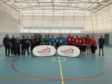 Goalball UK Home Nations team photo | Goalball UK