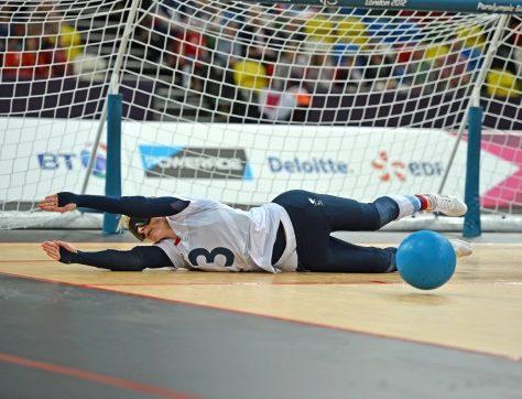 GB Goalball player defends goal at London 2012 Olympics | Goalball UK