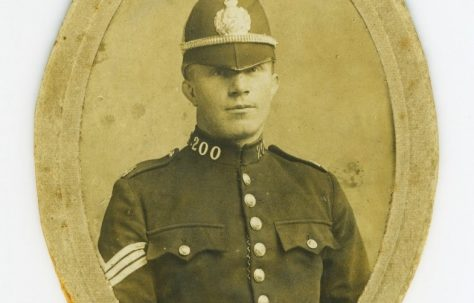 Richard Thomas: Policeman, Sportsman, Soldier.