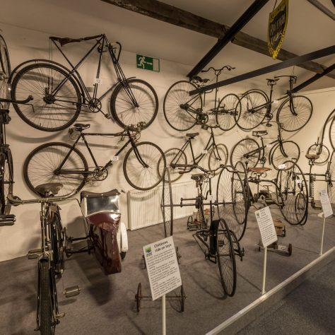 Modern-day bicycles | Lakeland Motor Museum