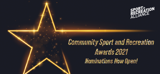 Community Sports and Recreation Awards 2021 | Sport and Recreation Alliance