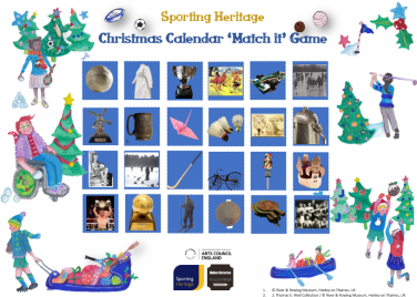 Christmas Calendar 'Match It' Game (see downloads) | Sporting Heritage CIC / Jessica Hartshorn