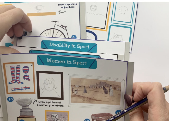 Close up of the exhibition panels used to create the 3d model of the Sporting Museum | Jessica Hartshorn