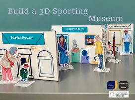 Build a 3D Sporting Museum Title and photo of constructed model