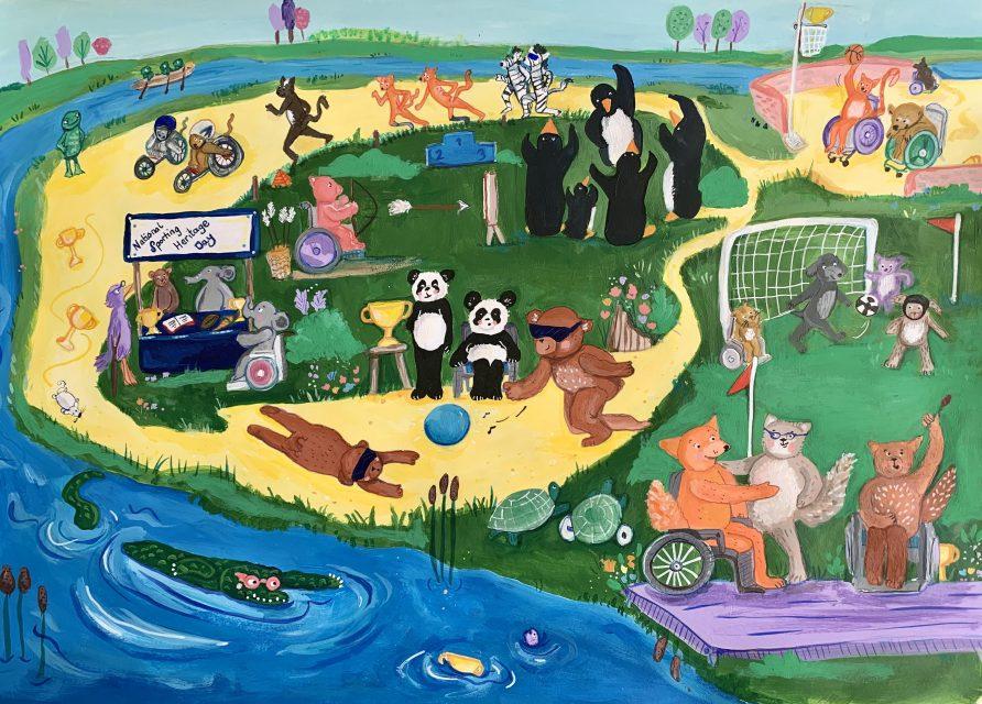 Animal Para Games Illustration | Jessica Hartshorn