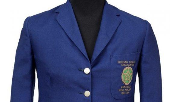 England Blazer of Enid Bakewell - MCC Museum