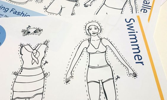 Dress a Sports Person. Cut and Stick Activity