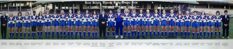 Great Britain Women's Rugby League Team, 1996 Tour of Australia   Women in Rugby League