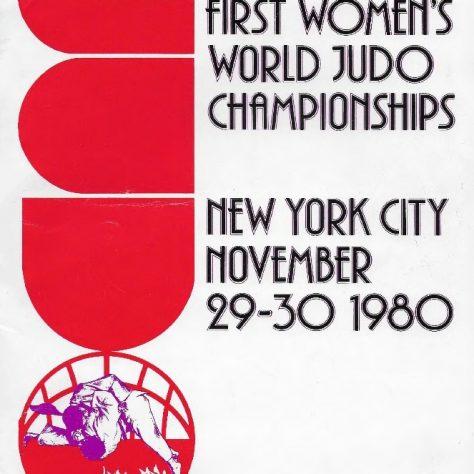 Event Programme, NY 1980   Courtesy British Judo