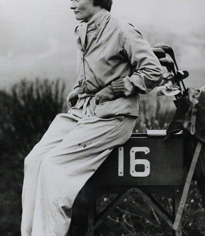 Poppy Wingate, 1933   R&A World Golf Museum