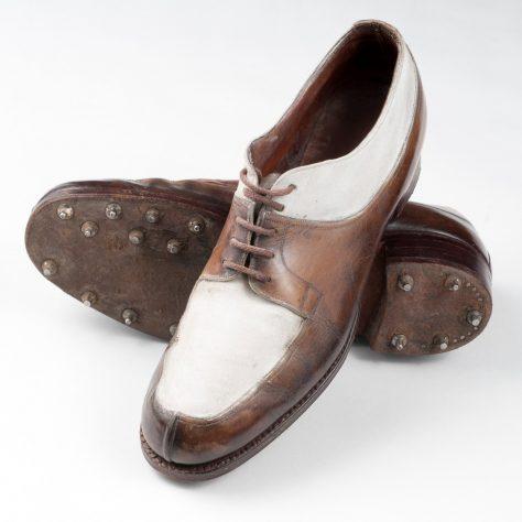 Poppy Wingate golf shoes, 1933   R&A World Golf Museum