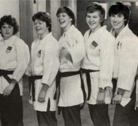 Womens World Championship Squad, 1980   British Judo