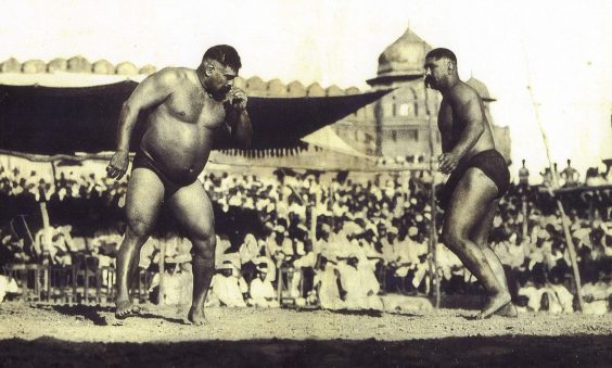 Gracing the Mat - the influence of traditional Panjabi wrestling in the UK