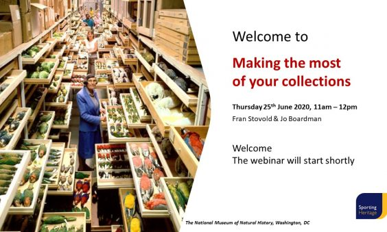Making the most of your collections